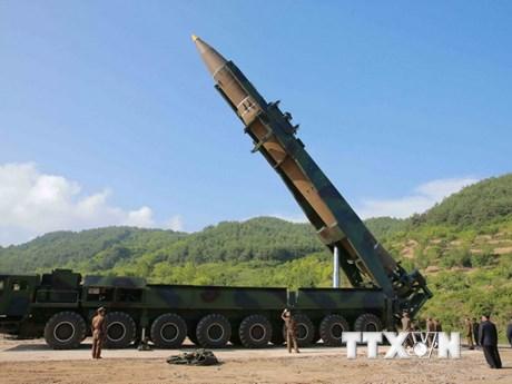 Mỹ đang xem xét 2 chiến lược đánh chặn tên lửa Triều Tiên