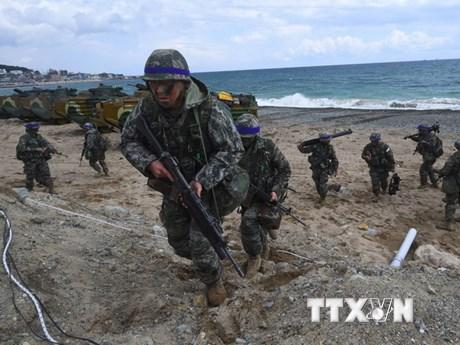 Mỹ và Hàn Quốc ấn định thời điểm tiến hành tập trận chung thường niên