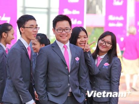 """Lễ khai giảng tại ngôi trường phong cách quốc tế """"như phim"""" ở Hà Nội"""
