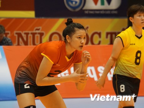 [Photo] Sôi nổi giải Bóng chuyền nữ quốc tế VTV Cup 2018 tại Hà Tĩnh