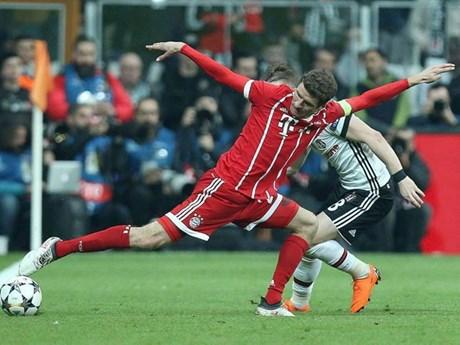Cận cảnh chiến thắng của Bayern Munich trên sân Besiktas