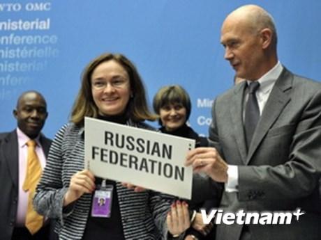 Nga được chấp thuận trở thành thành viên WTO
