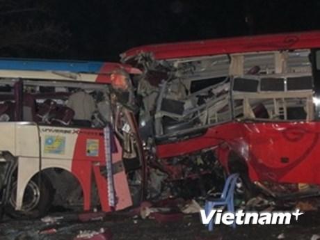 Hỗ trợ gia đình nạn nhân vụ tai nạn ở Khánh Hòa