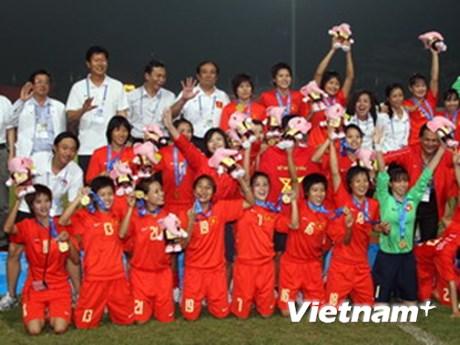 Trao giải thưởng cho bóng đá nữ và U23 quốc gia