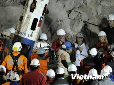 Chile giúp đỡ về y tế và việc làm cho 33 thợ mỏ