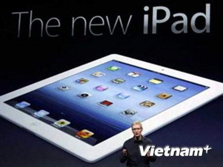 """Mẫu new iPad đã """"cháy hàng"""" ngay trong ngày đầu"""