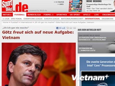 Báo Đức nói về Goetz