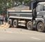 [Video] Hiện trường vụ tai nạn kinh hoàng xe máy lao vào xe ben