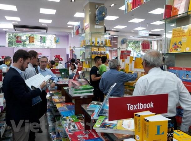 Gian hàng sách tiếng Đức đầu tiên ở Việt Nam