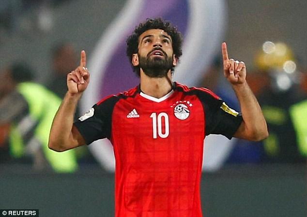 Mohamed Salah trở thành người hùng của Ai Cập. (Nguồn: Reuters)