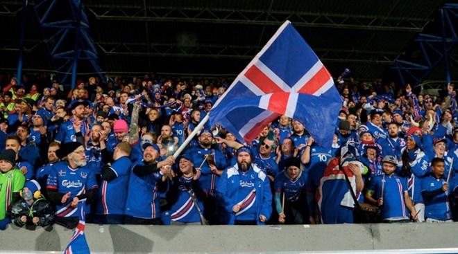 Người hâm mộ Iceland sẽ lại được sống trong bóng đá khi đội bóng của họ làm nên kỳ tích. (Nguồn: AFP)