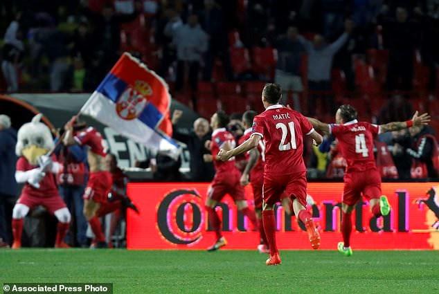 Serbia góp mặt ở World Cup 2018.