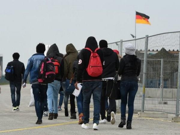 Trại tị nạn ở Đức. (Nguồn: France 24)