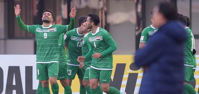 U23 Iraq thắng đậm U23 Malaysia. (Nguồn: AFC)