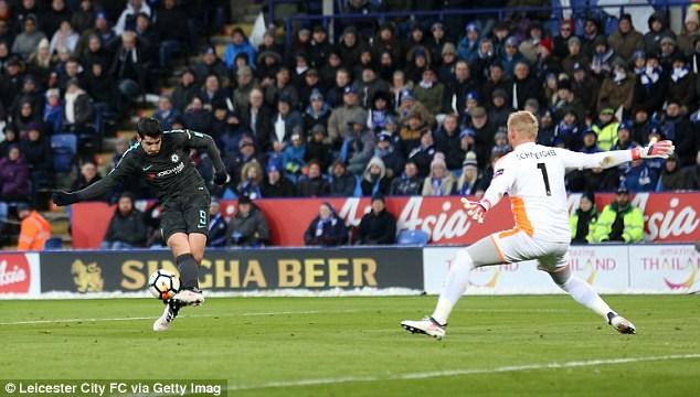 Morata chấm dứt chuỗi trận tịt ngòi.