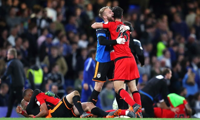 Huddersfield Town trụ hạng thành công. (Nguồn: Getty Images)