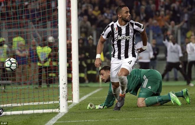 Benatia lập cú đúp tại giải đấu này. (Nguồn: AP)