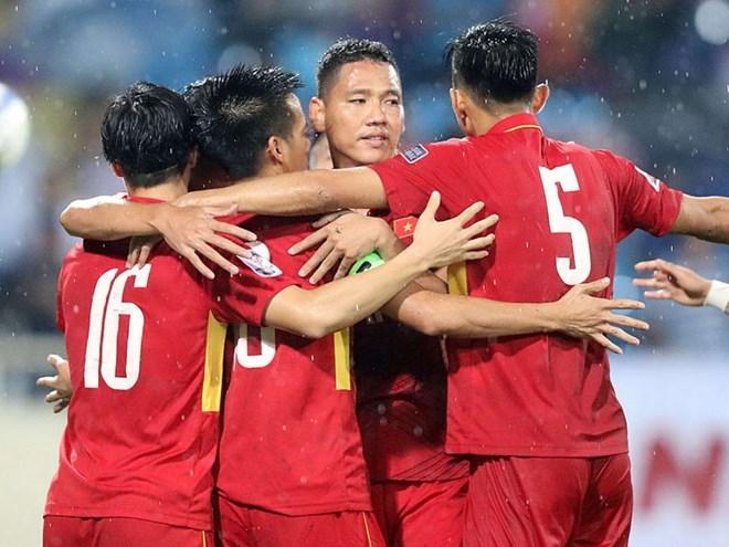Đội tuyển Việt Nam tiếp tục thăng tiến trên bảng xếp hạng FIFA - ảnh 1