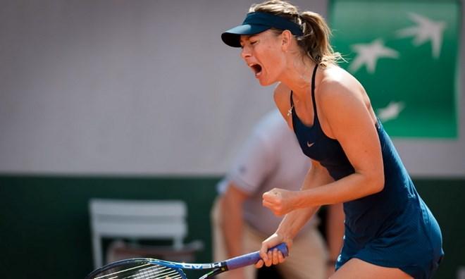 Maria Sharapova thẳng tiến vào vòng 3
