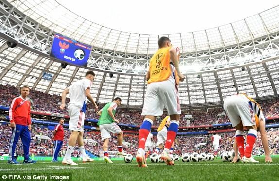Trực tiếp Nga - Saudi Arabia 1-0: Gazinsky làm nổ tung Luzhniki - ảnh 9