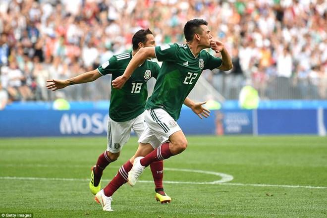 Địa chấn tại World Cup 2018: Mexico hạ gục đương kim vô địch Đức