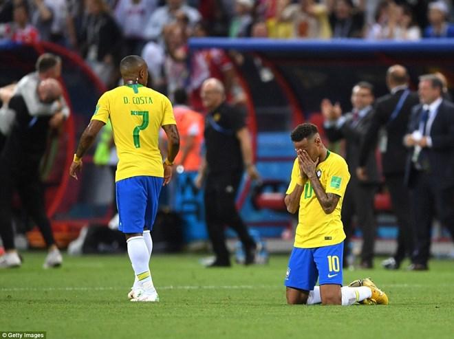 Neymar và Brazil lại thêm một lần lỡ hẹn với ngôi vương.