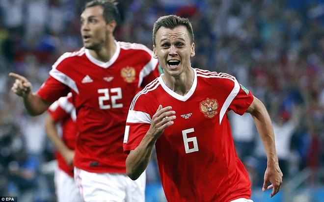 Cheryshev đã có giải đấu vô cùng ấn tượng.