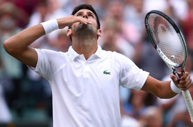 Djokovic sẽ chạm trán Nishikori ở tứ kết. (Nguồn: Getty Images)