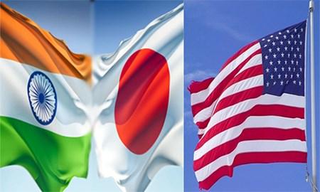 Image result for liên minh Mỹ-Nhật-Ấn Độ