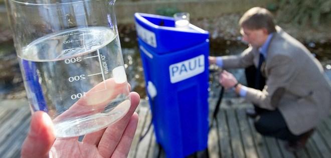 Một bang của Đức tài trợ máy lọc nước cho nạn nhân bão số 12 - ảnh 1