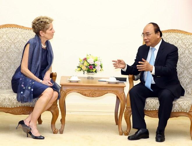 Thủ tướng mong muốn nhiều doanh nghiệp Canada đầu tư vào Việt Nam - ảnh 1