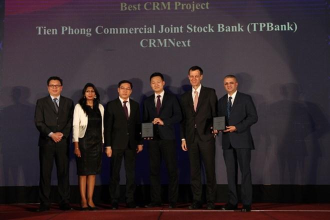 TPBank nhận cùng lúc 3 giải thưởng quốc tế uy tín về ngân hàng số - ảnh 1