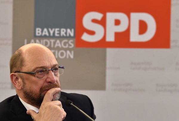 Đàm phán lập Chính phủ Đức: Ông Martin Schulz từ chức Chủ tịch SPD