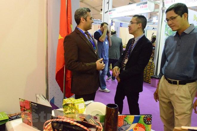 Mặt hàng nông, lâm, thủy sản Việt Nam hút khách tại hội chợ ở Cairo - ảnh 1