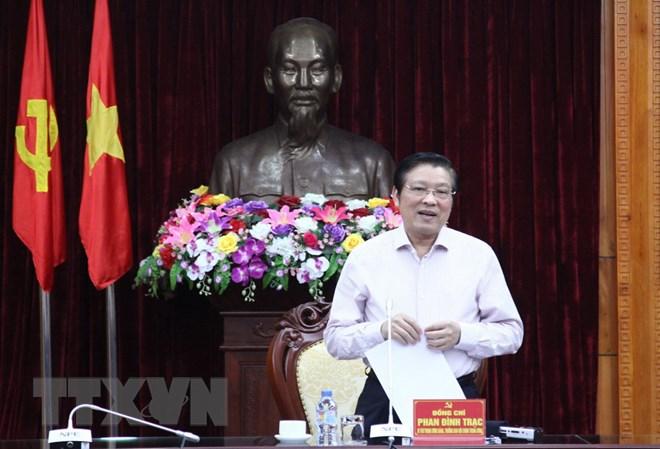 Triển khai quyết định kiểm tra đối với Ban Thường vụ Tỉnh ủy Lạng Sơn