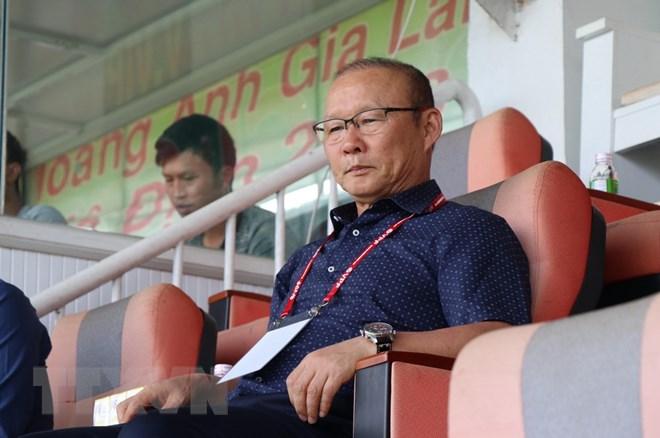 Ông Park Hang-seo dự khán trận HAGL thua ngược Quảng Nam - ảnh 1