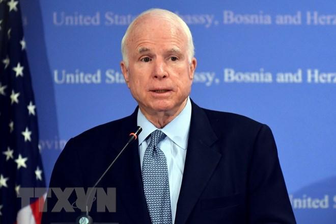 Các chính trị gia chia buồn trước sự ra đi của ông John McCain - ảnh 1