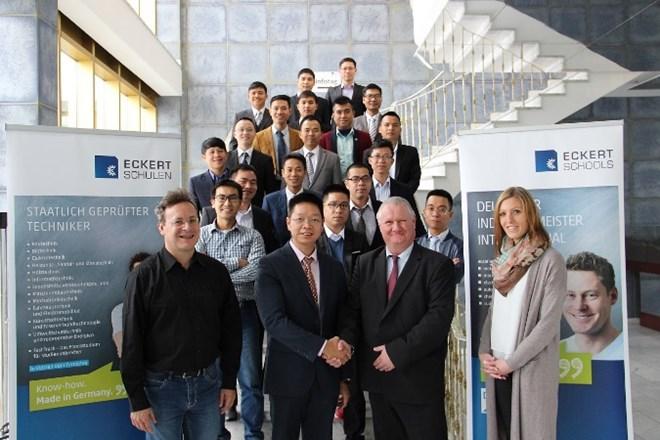 VinFast chính thức ra mắt Trung tâm Đào tạo Kỹ thuật viên Cơ điện tử và Cơ khí công nghiệp. (Nguồn: Vingroup)