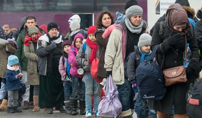 Người tị nạn tại Đức. (Nguồn: AP)