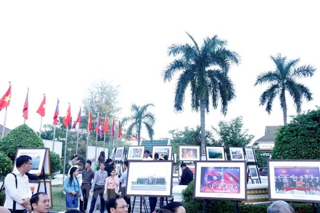 Triển lãm thu hút rất đông người dân và du khách. (Ảnh: Phạm Kiên/Vietnam+)