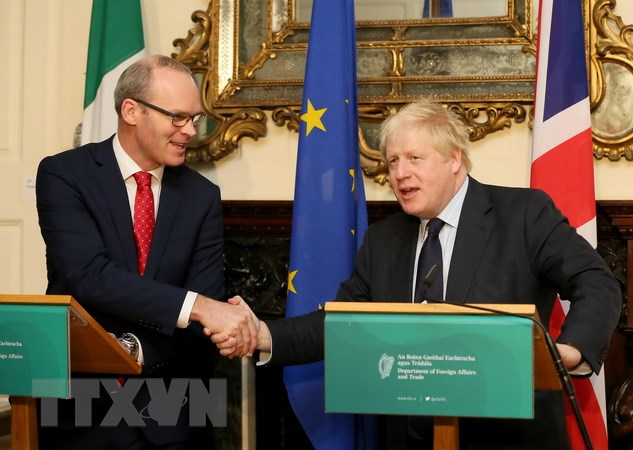 Sẽ không có biên giới cứng trên đảo Ireland trong thỏa thuận Brexit - ảnh 1