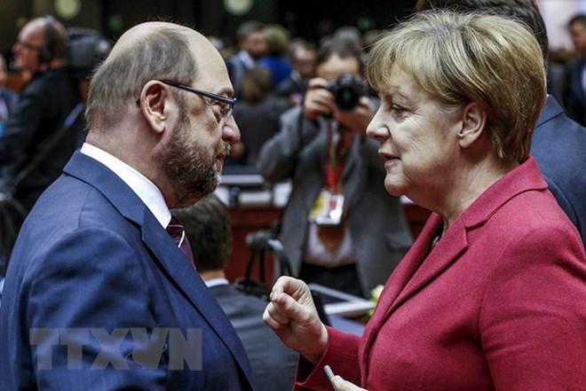 Liên đảng CDU/CSU, SPD lạc quan về lập chính phủ liên minh