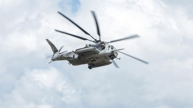 Máy bay trực thăng CH-53E Super Stallion. (Nguồn: Shutterstock)
