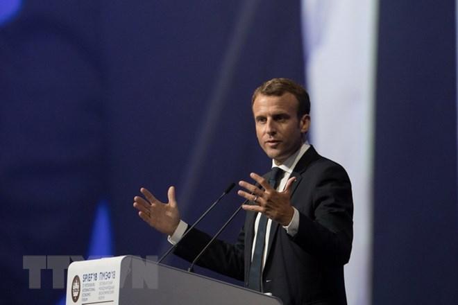 Tổng thống Pháp chỉ trích Mỹ tạo ra chủ nghĩa dân tộc về kinh tế - ảnh 1