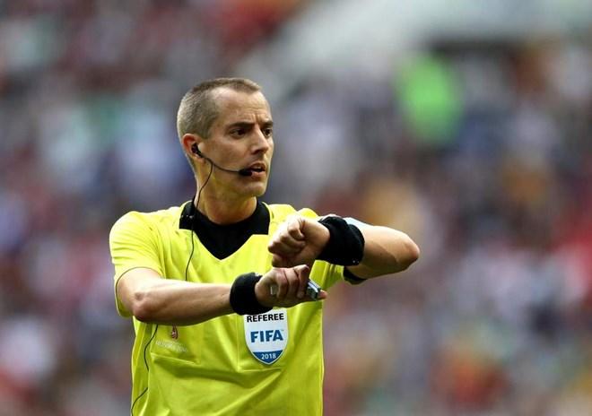 Trọng tài sẽ mang lại may mắn cho Colombia?