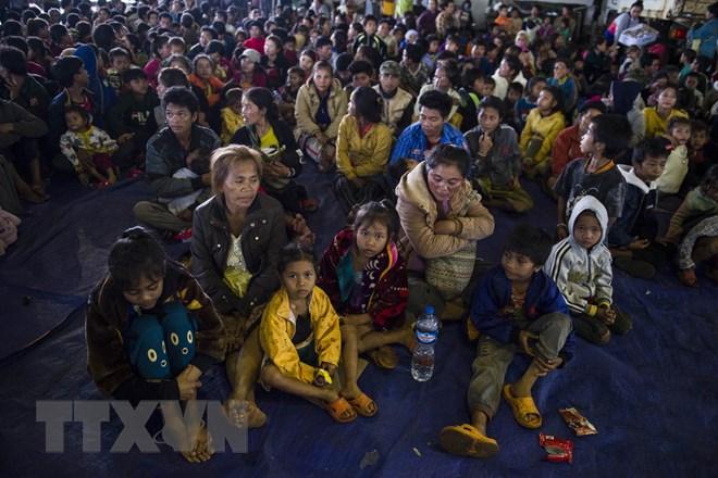 Tập đoàn SK Hàn Quốc hỗ trợ Lào 10 triệu USD khắc phục vụ vỡ đập - ảnh 1