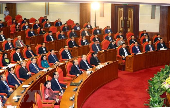 Các đại biểu tham dự phiên bế mạc hội nghị. (Ảnh: Thống Nhất/TTXVN)