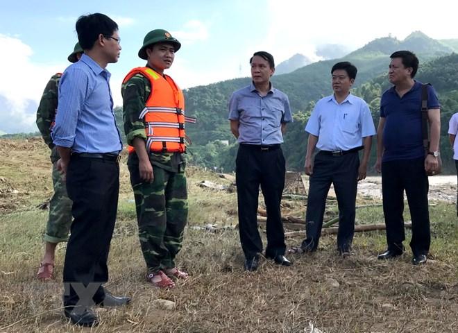 Lãnh đạo TTXVN tới hiện trường chỉ đạo tìm kiếm phóng viên gặp nạn - ảnh 1
