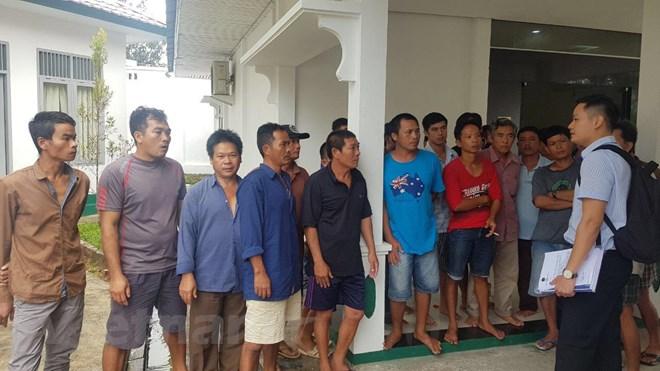 5 thuyền trưởng Việt Nam kêu oan sẽ được Indonesia xét xử ngày 16/11 - ảnh 1