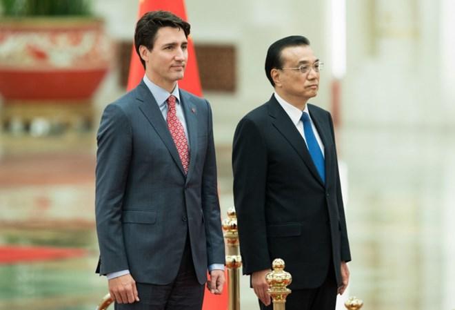 Trung Quốc và Canada nhất trí ra tuyên bố chung về biến đổi khí hậu